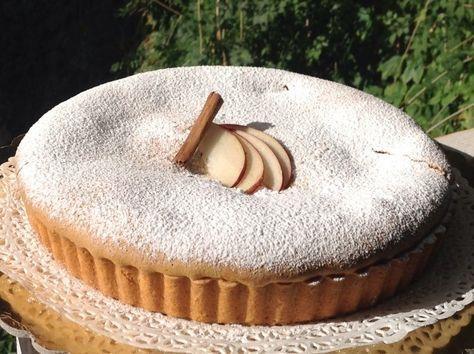 Crostata di mele con pasta paradiso