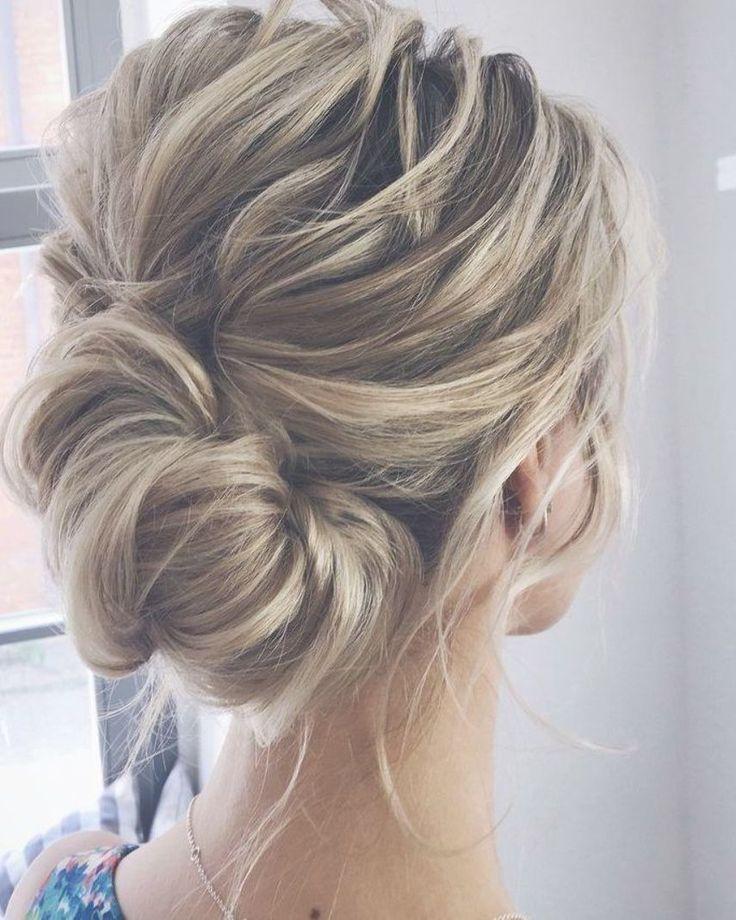Bridal Hairstyles : Elegant Wedding Hairstyles and Updos from lenabogucharskaya #weddings #bride #br... - #bridal #elegant