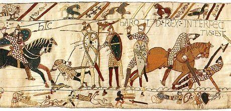 Tapisserie de Bayeux - Certains styles importants - info sur tapisserie - Mille Fleurs Tapestries