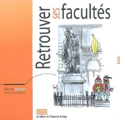 """A la demande de l'université de Liège, Thomas Ancion, romancier belge, se penche sur ses années universitaires et porte un regard humoristique sur les situations typiquement académiques qui sont croquées en parallèle par les illustrations du dessinateur Kroll. """"Chacun y retrouvera une part de lui-même, de son histoire, de sa vie. En refermant le livre, chacun aura retrouvé sa (ou ses) faculté(s)…(Bernard Rentier recteur de l'université de Liège)"""