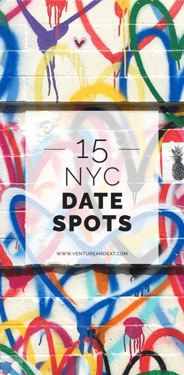 NYC | New York City | Date Night | NYC Date | Quick, I need a date spot | Need a NYC date spot for different budgets? These are my favorite spots in the city for dates!