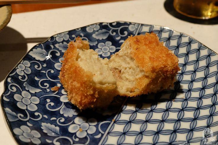 Nagahori - Michelin 1 star Izakaya in Osaka -  Crab Croquette