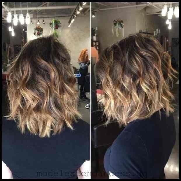 16 Balayage Haarfarbe Ideen mit Blond, Braun und Karamell Highlights#frisuren #madame #Kurzhaarfrisuren #hairstyle #Frauen #2019 #hair | meine Frisuren   – Frisuren