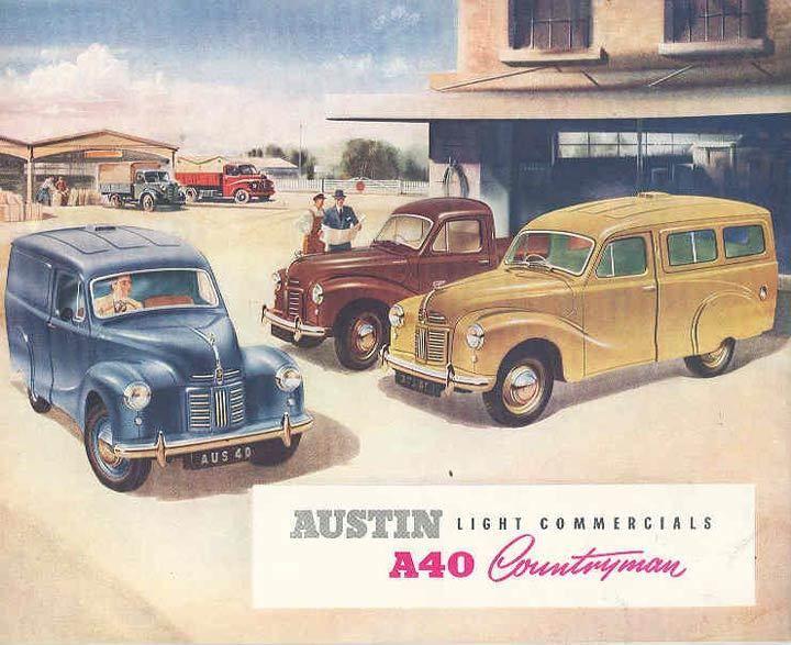 1953 Austin A40 Countryman Station Wagon Brochure wk1821-3RF8XF | eBay