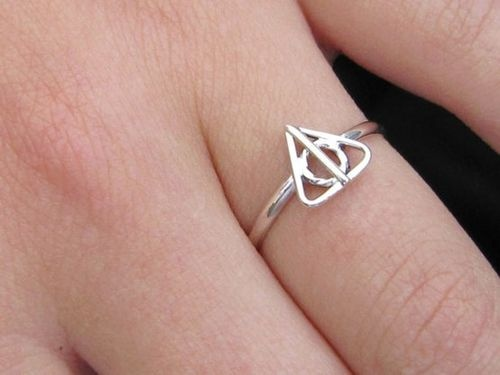 Deathly Hallows ring.