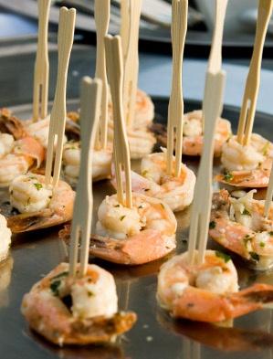 I <3 THIS IDEA!  shrimp scampi