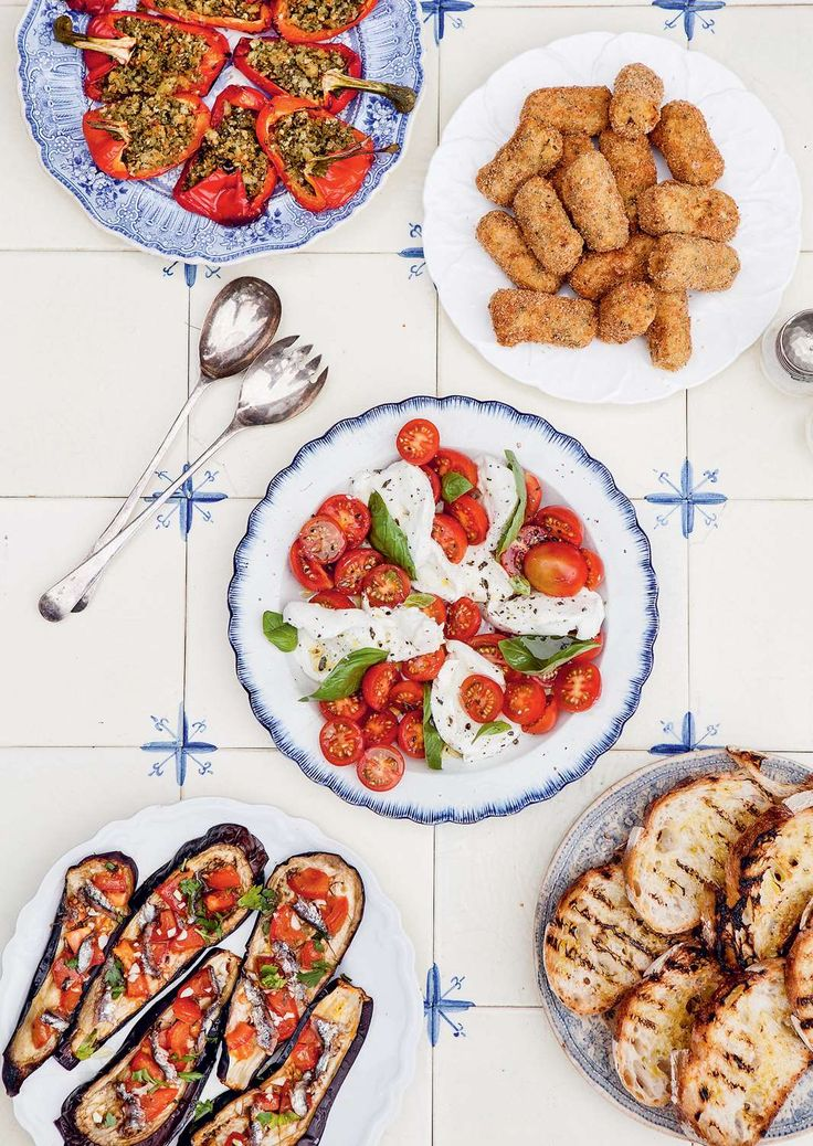 Insalata caprese by Katie Caldesi from The Amalfi Coast | Cooked