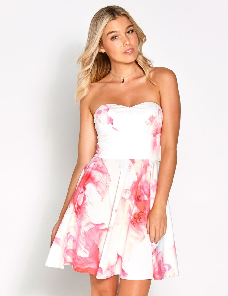 Image for A Bloom Stripe Fit N Flare Dress from Dotti