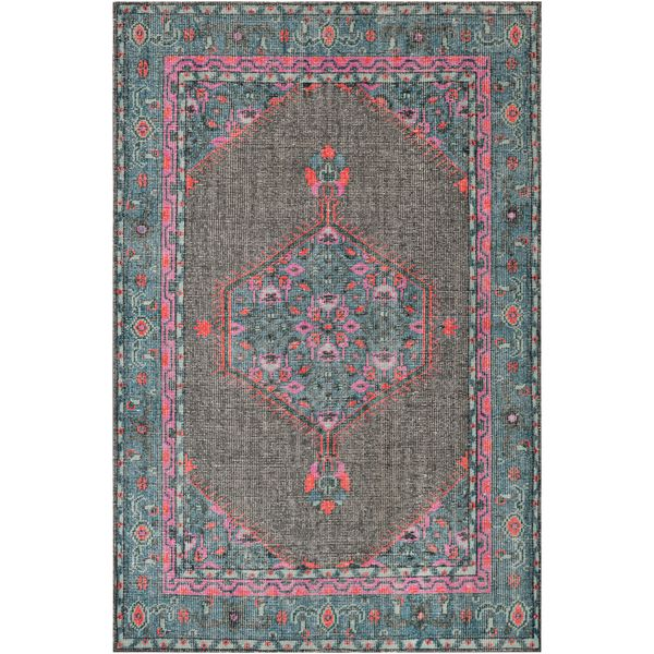 TIF Hand Knotted Rug - Teal