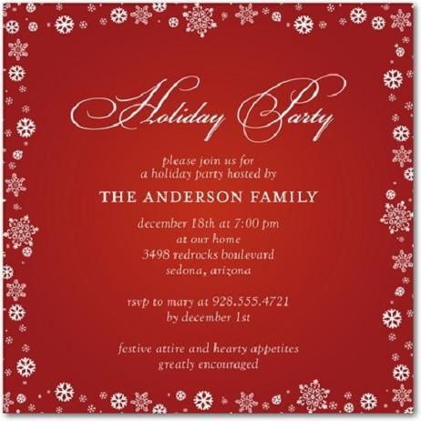 The 25 best Christmas party invitation wording ideas – Holiday Party Invitations Wording
