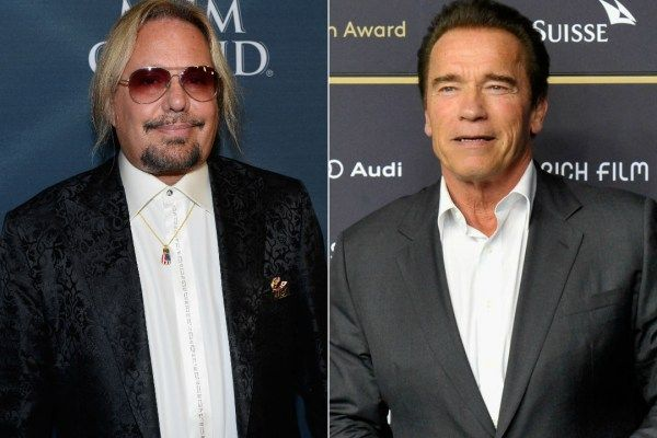 Vince Neil will join Arnold Schwarzenegger on 'Celebrity Apprentice' in 2016.