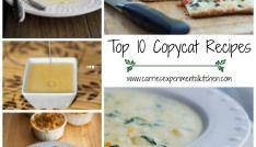 Top 10 Copycat Recipes