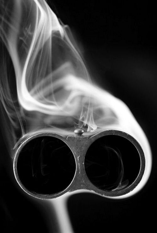Nice B picture of a double barrel...