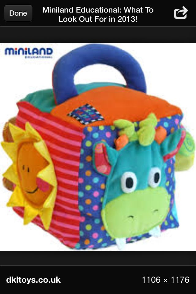 Activity cube - sew for baby                                                                                                                                                                                 Más
