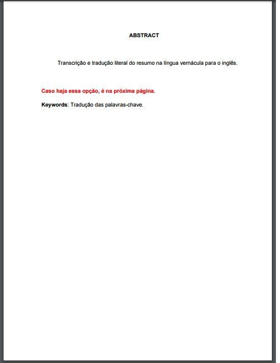 Resumo de língua estrangeira regras ABNT (Foto: Divulgação)
