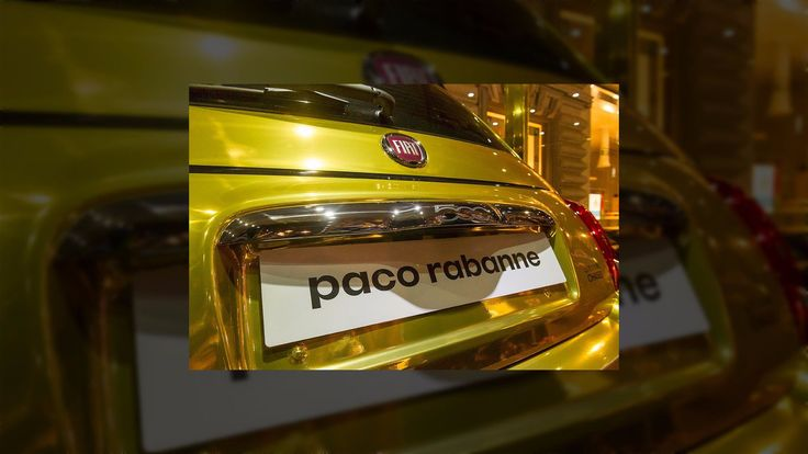 Fiat 500 By Paco Rabanne – Buy A Perfume And Win A Car Everybody loves things for free and good promotions. If you are a fan of Paco Rabanne perfumer, they have a great deal for you. You might get a Fiat 500 by Paco Rabanne, if you buy a perfume and are lucky enough. The Fiat 500 car was created by Paco Rabanne and the atelierGarage Italia Customs....