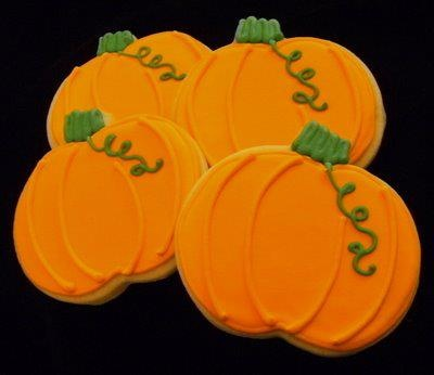 Pumpkin cookies