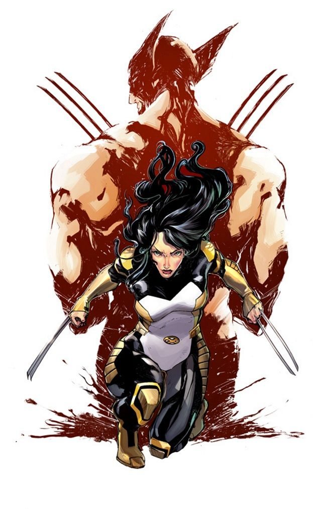 X-23 by Ariela Kristantina #XMen #XForce #Mutants