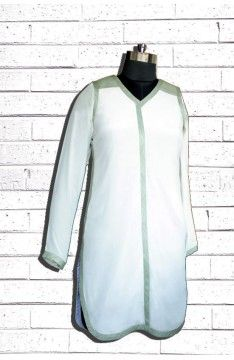 Short tunic kurta: The Luxury Label's Lumina Collection for #indianofficewear #indianworkwear #Indianofficefashion #indianformals