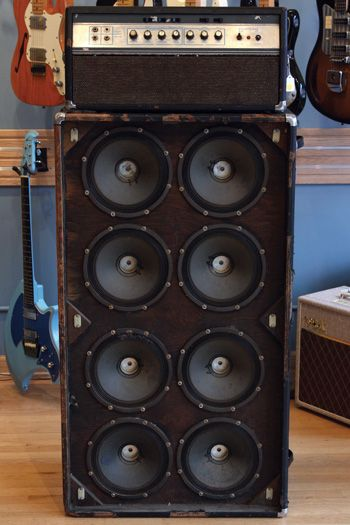 1969 Ampeg SVT Head and 8x10 Cabinet - Premier Guitar