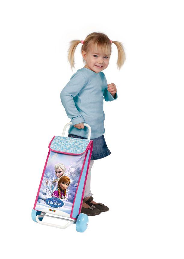 Frozen shopping trolley bag #frozen #disney #simbatoys #happy #kids #toys #trolley #bag