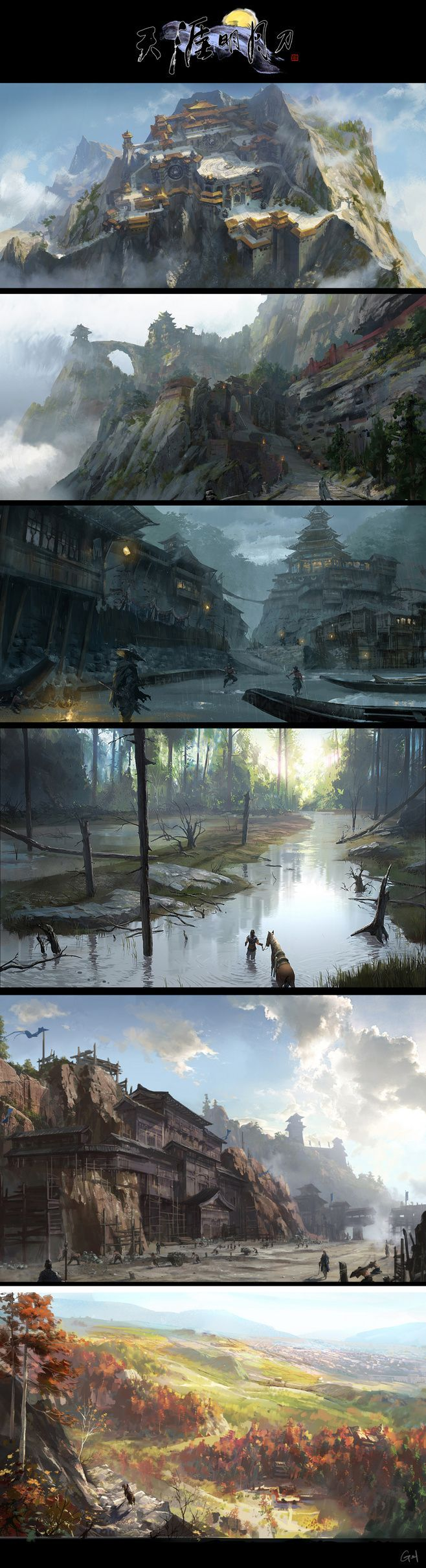 The third one is really strong #FantasyLandscape