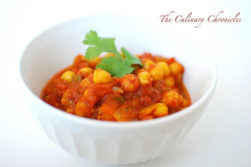 Channa Masala (Spicy Chickpea Curry) | Foodie Finds | Pinterest