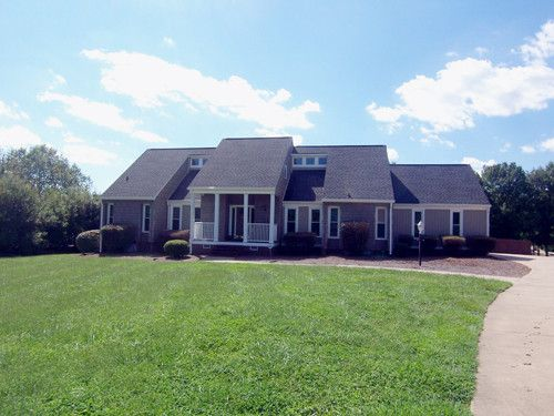 Residential, Contemporary - Cherryville, NC Fabulous waterfront home, 2 level dock, heated pool, fenced yard, gazebo, kitchen with stainless appliances, solid surface counters, wet bar, 2 additional bedrooms possible, exterior new, siding windows, AHS Warranty.