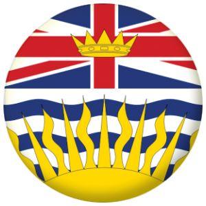 British Columbia Province Flag