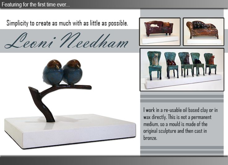 Leoni Needham exhibits the full tange of sculpters