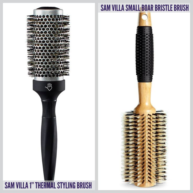 when why amp how to use a boar bristle round brush or