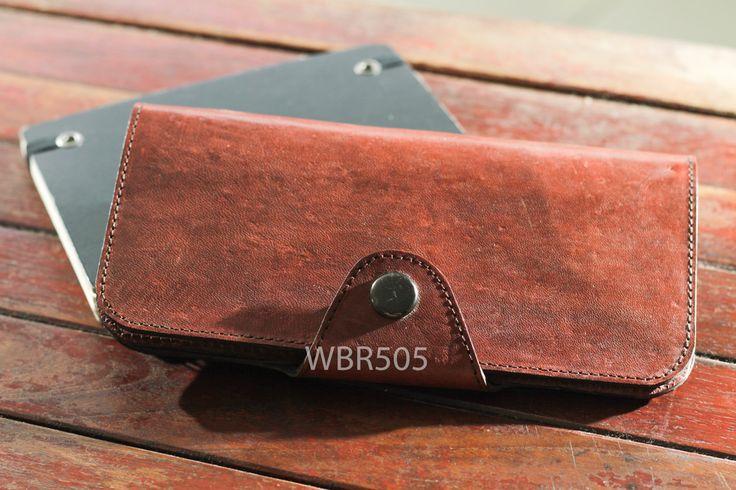 CALLA DARKBROWN women wallet leather wallet handmade wallet simple wallet  vintage look genuine wallet brown wallet multifunction wallet by Astaboho on Etsy