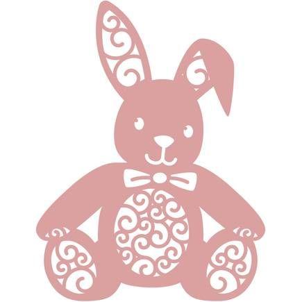 Intricut Bunny Die 6.3 X 9.1 Cm   Hobbycraft