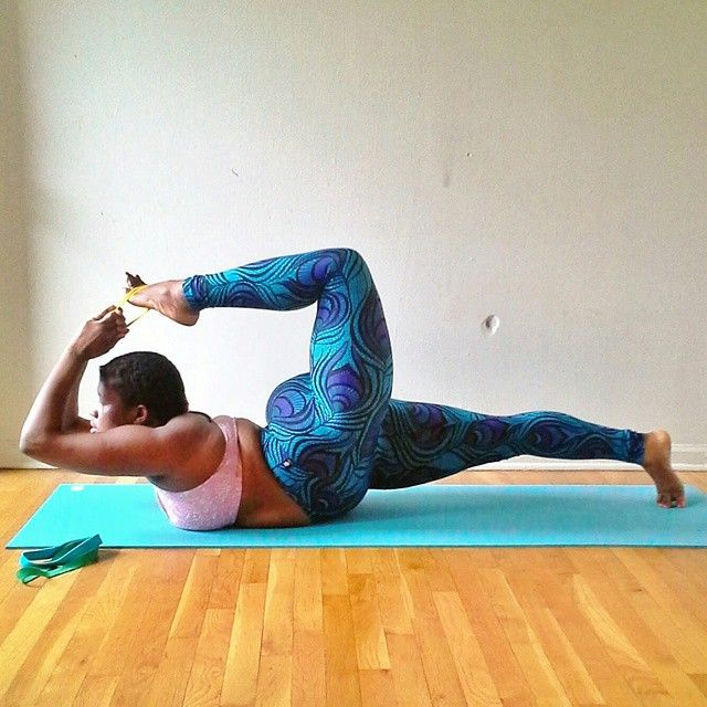 Inspiring Plus-Sized Yogi is Changing the Face of Fitness on Instagram - My Modern Met