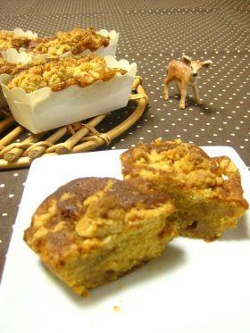 「キャラメルアップルクランブルケーキ」ジェイ   お菓子・パンのレシピや作り方【corecle*コレクル】