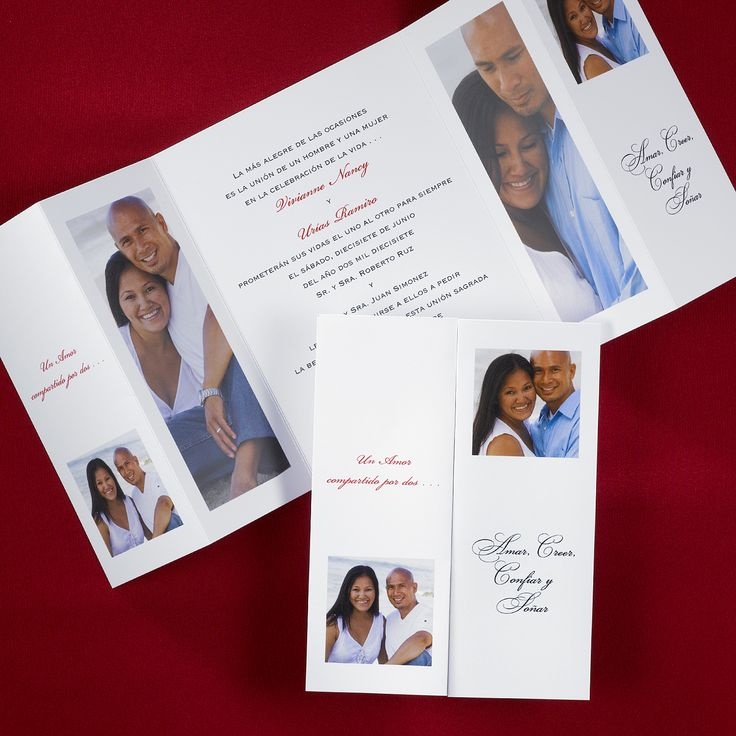 The 25+ best Spanish wedding invitations ideas on Pinterest ...