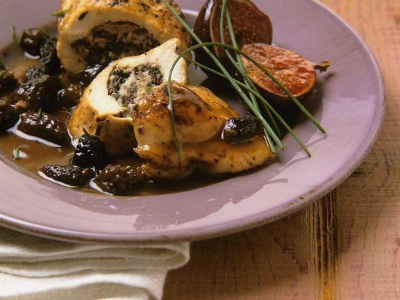 Hähnchenbrust mit Brätfüllung und Morcheln ist ein Rezept mit frischen Zutaten aus der Kategorie Hähnchen. Probieren Sie dieses und weitere Rezepte von EAT SMARTER!
