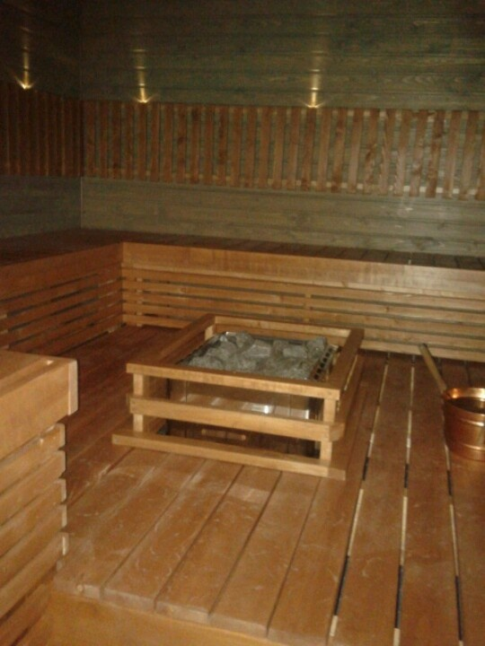 Sauna at Idefix