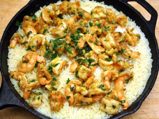 Madhur Jaffrey's Shrimp Biryani Recipe | Yummly