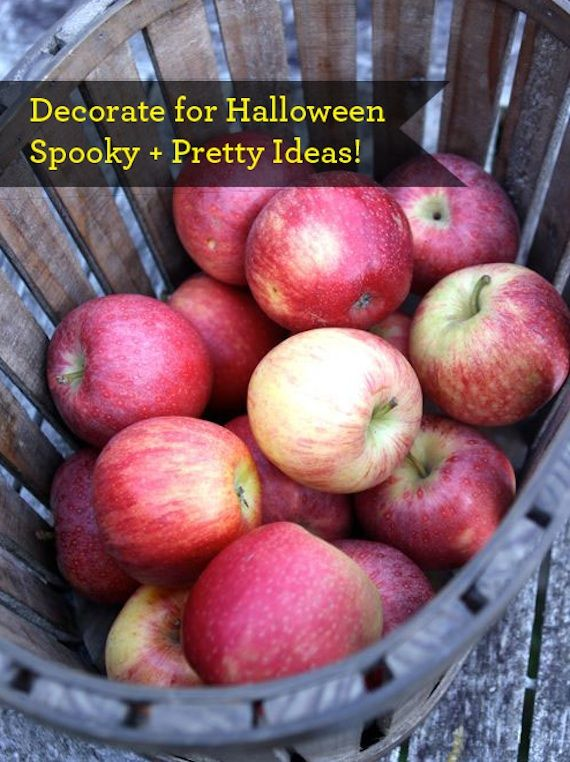 10 easy pretty ways to decorate for halloween think well try the cheesecloth ghosts and mice tomorrow - Pretty Halloween Decorations