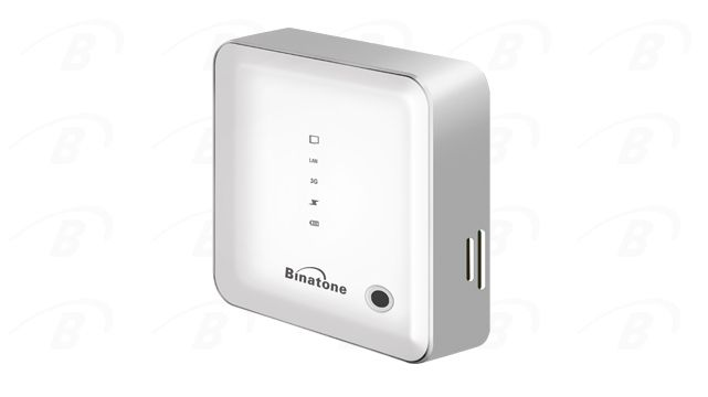 A powerbank with wi-fi router from Binatone good product.