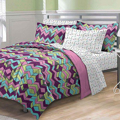 My Room Albuquerque Bed In A Bag Bedding Set Walmart Com