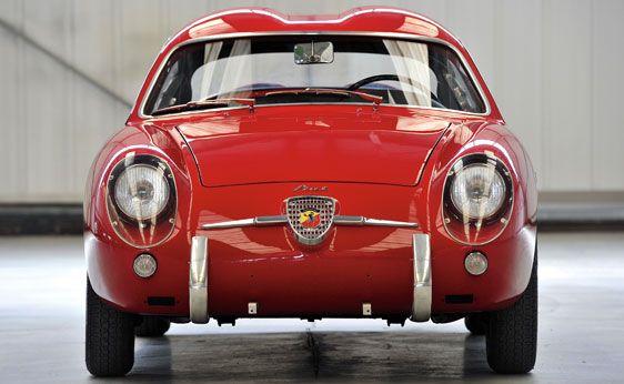 1956 Fiat Abarth 750 GT 'Double Bubble' by Carrozzeria Zagato