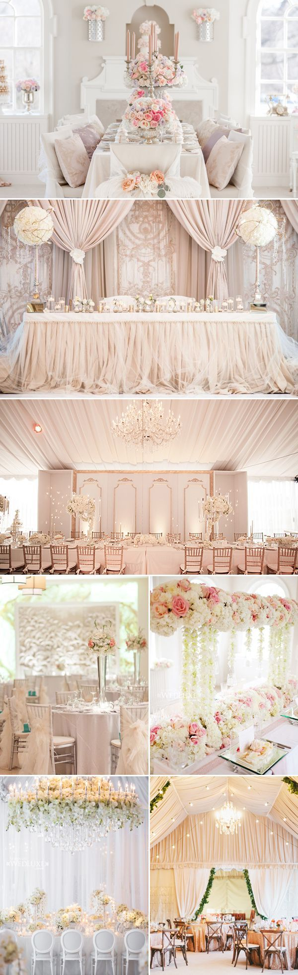 30 Stunning Luxury Indoor Reception Decoration Ideas You don't Want to Miss! | Praisewedding