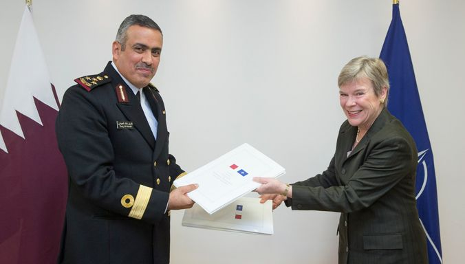 Qatar Has Signed A Security Agreement With Nato Brig Gen Tariq