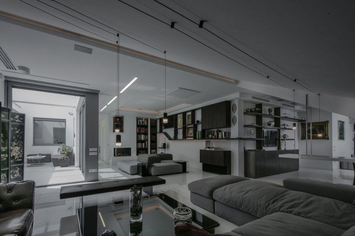 The reconstruction of an apartment on two levels by Sycamore Architects - CAANdesign | Architecture and home design blog