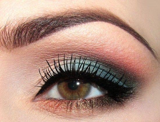 EyeshadowIdeas, Makeup Geek, Beautiful, Blue Eye Makeup, Purple Eyeshadow, Hazel Eye, Warm Eyeshadows, Blue Eyeshadows, Hair