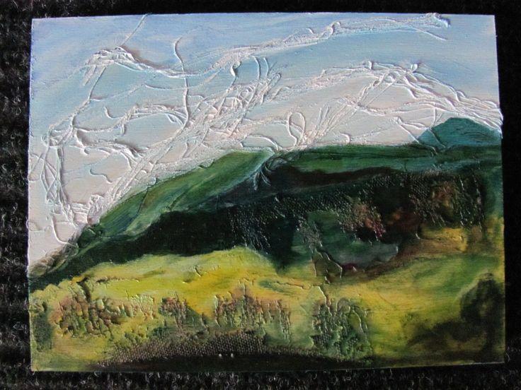 Imaginary Landscape Reminiscent of Nova Scotia / Past Work 6 X 8