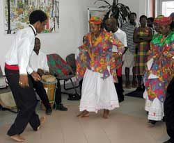 Dancing on Creole Day