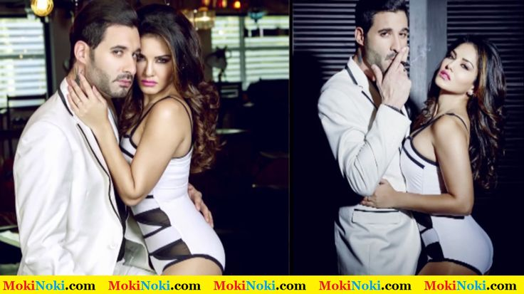 Sunny Leone with Daniel Weber On Mandate Magazine Cover January 2015 Issue 5